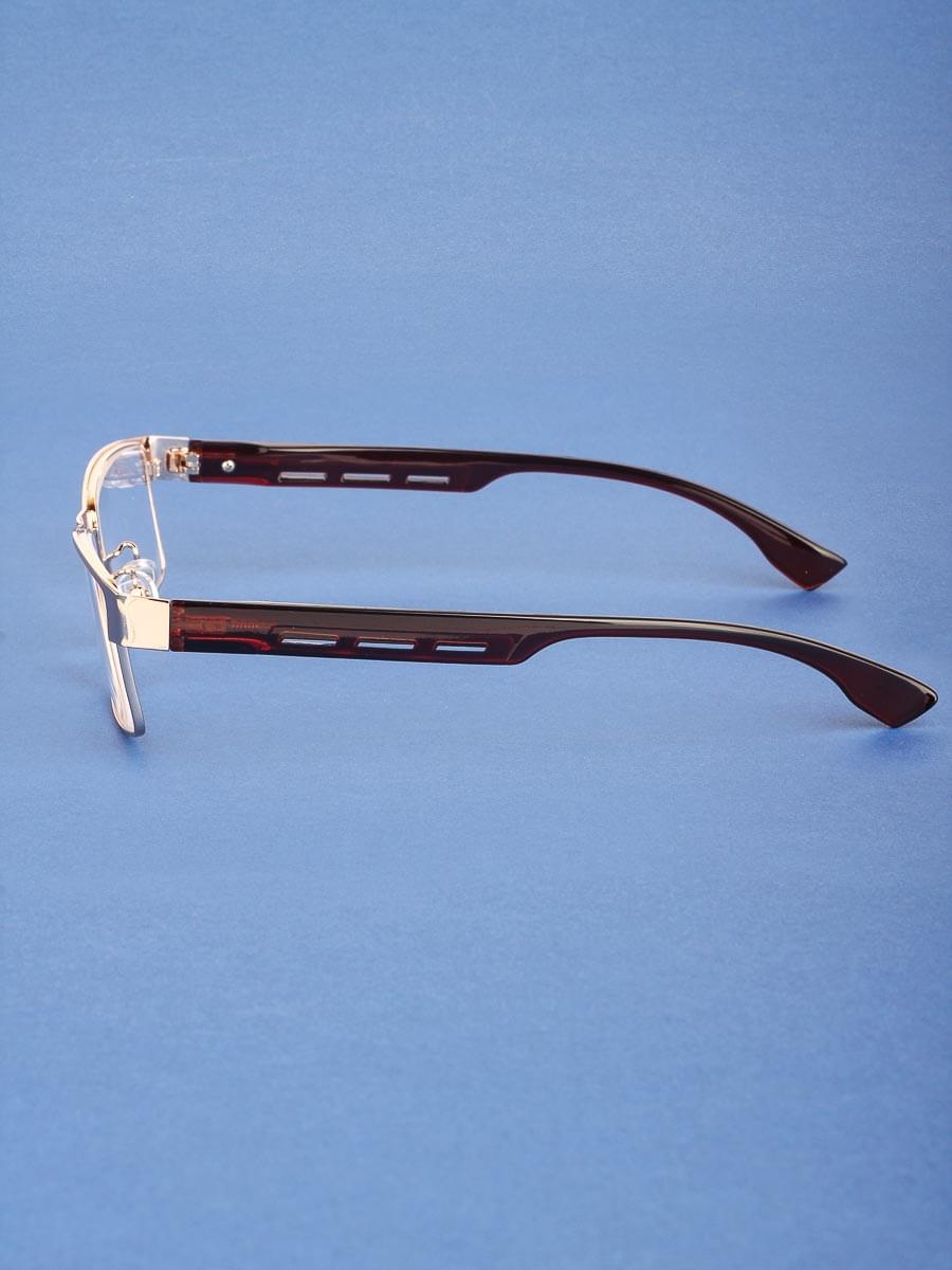 Готовые очки Farsi 4949 золотой-черный РЦ 66-68