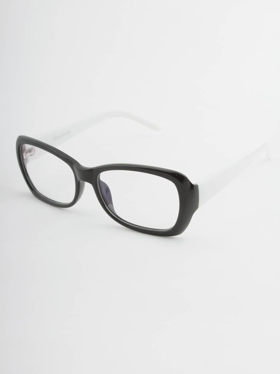 Компьютерные очки 8076 Черно-Белые