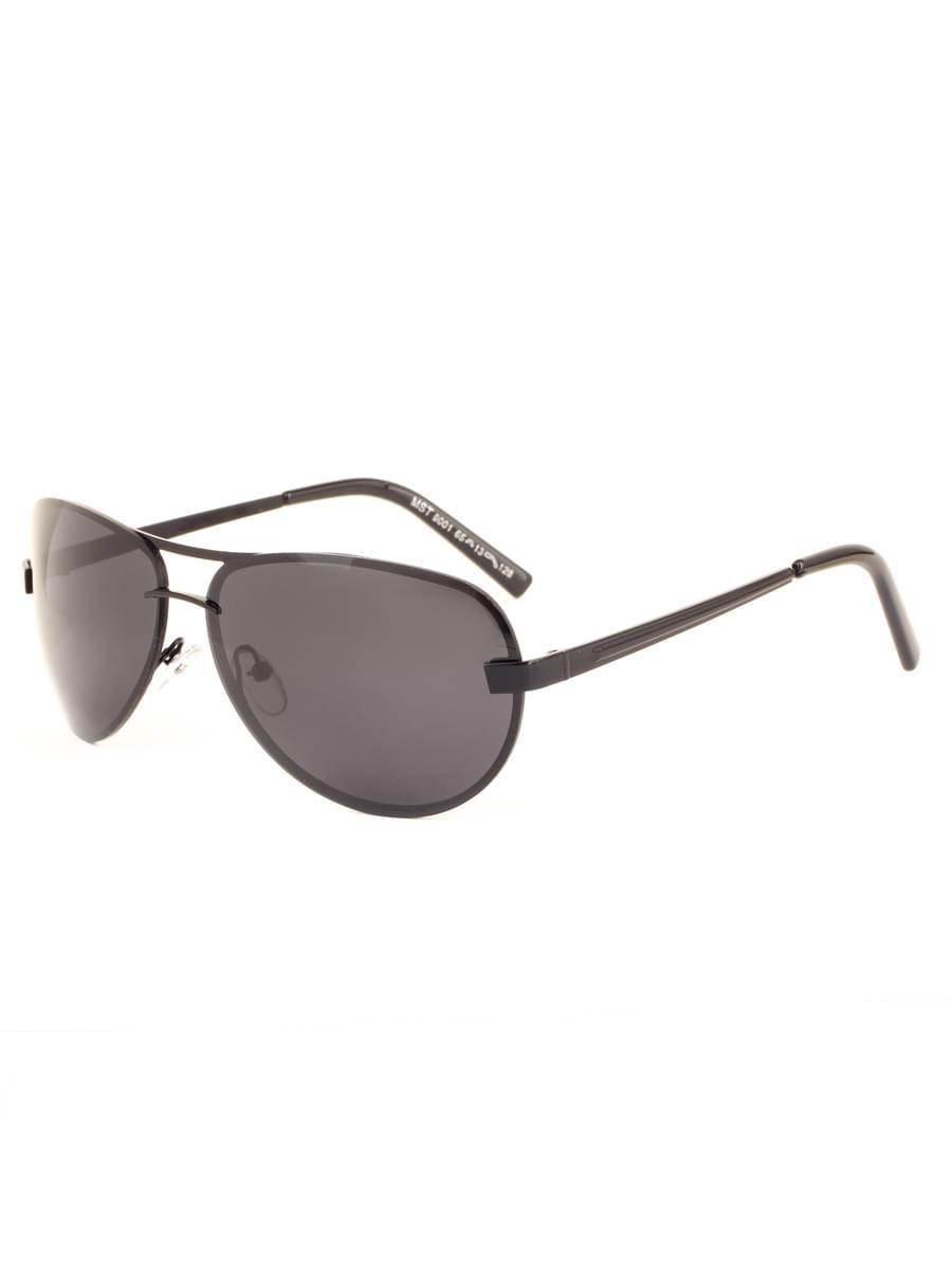 Солнцезащитные очки MARSTON 9001 Черные Глянцевые