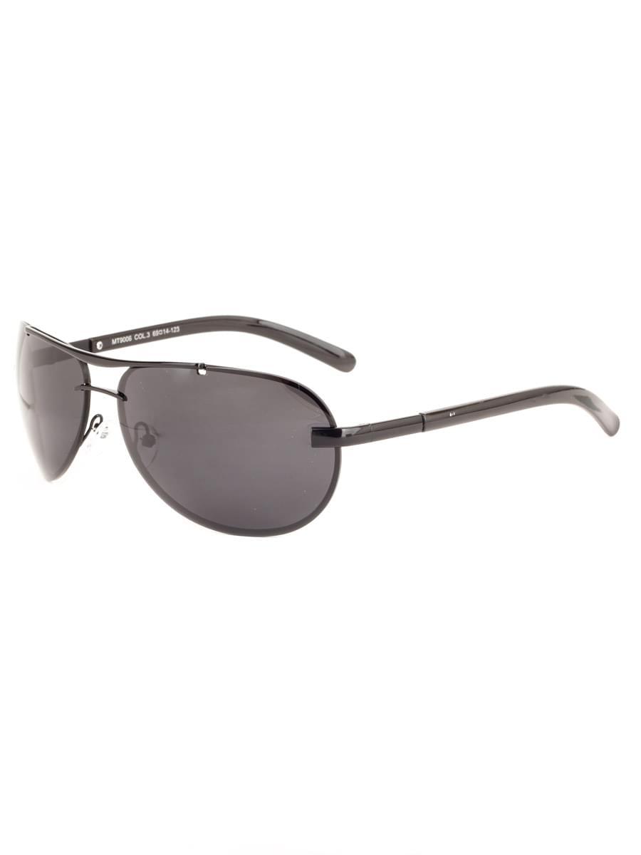 Солнцезащитные очки MARSTON 9006 Черные Глянцевые