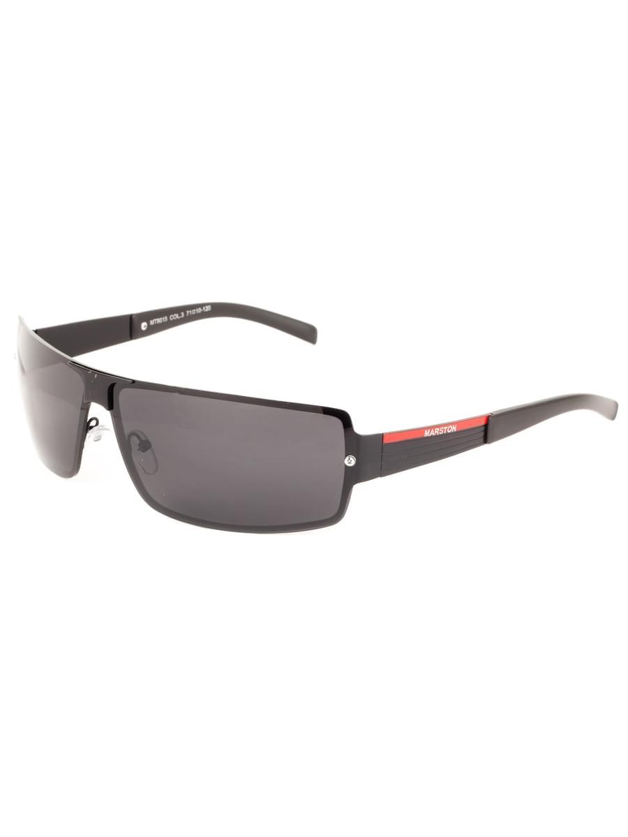 Солнцезащитные очки MARSTON 9015 Черные Матовые