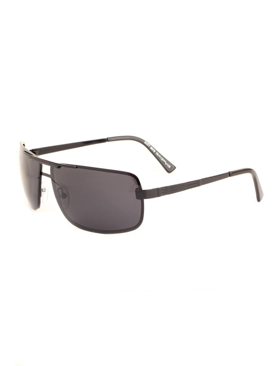 Солнцезащитные очки MARSTON 9076 Черные Глянцевые