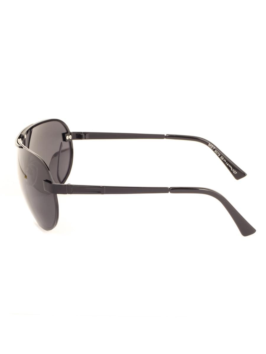 Солнцезащитные очки MARSTON 9079 Черные Глянцевые