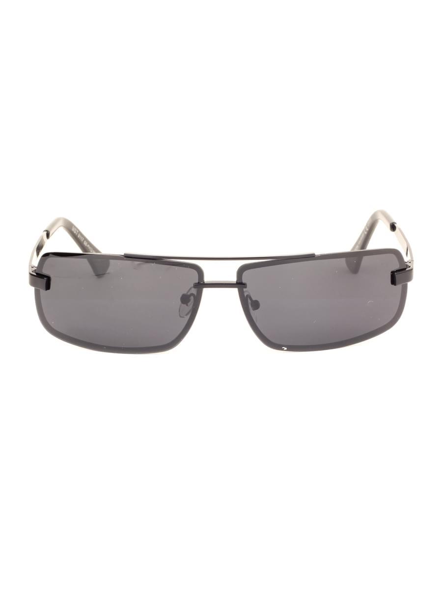 Солнцезащитные очки MARSTON 9117 Черные Глянцевые