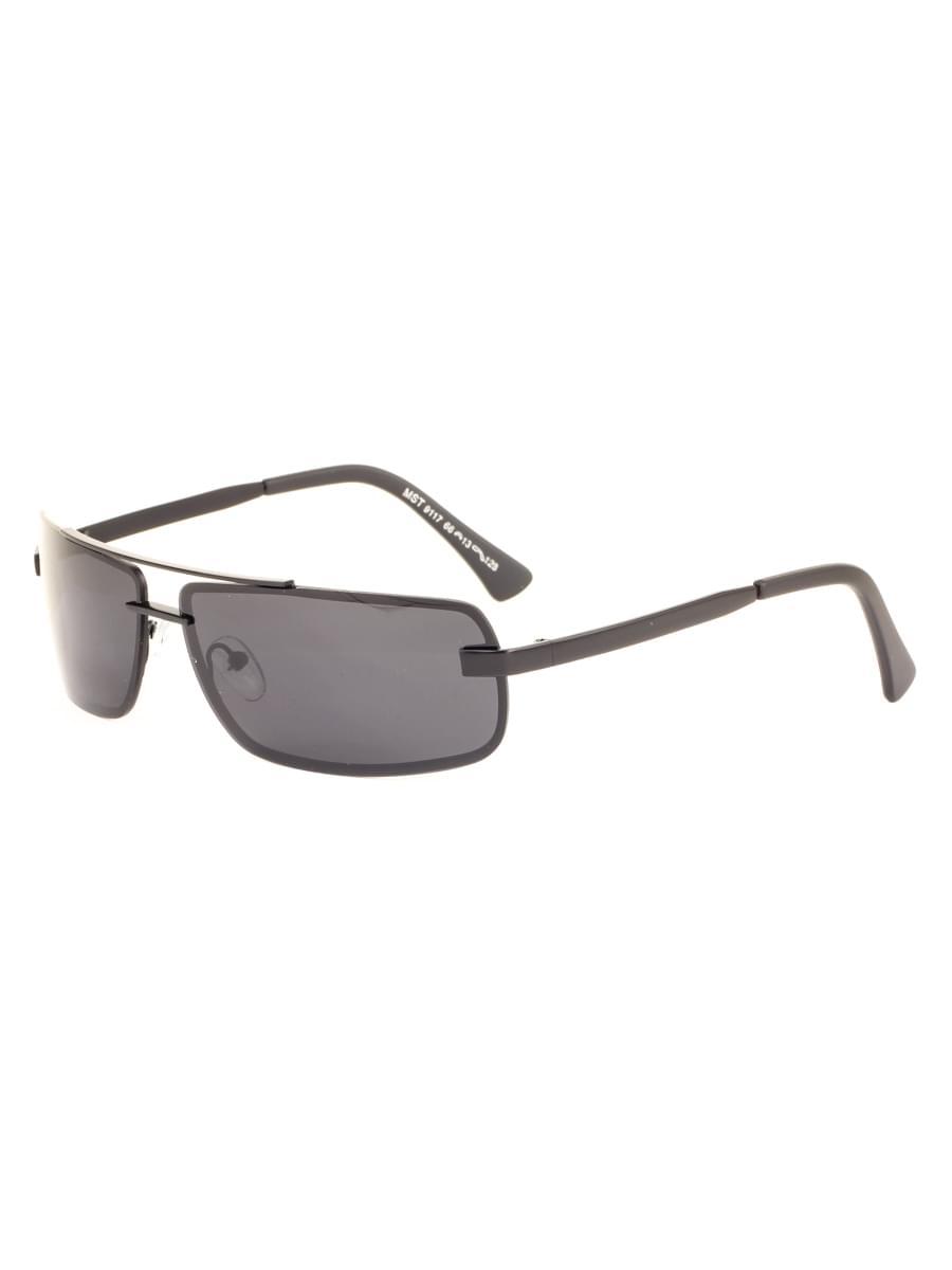 Солнцезащитные очки MARSTON 9117 Черные Матовые