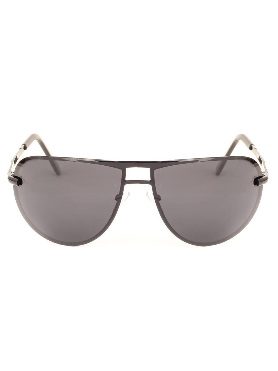 Солнцезащитные очки MARSTON 9801 Черные Глянцевые
