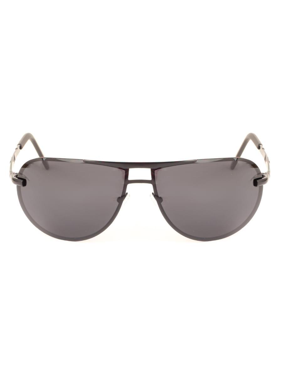 Солнцезащитные очки MARSTON 9801 Черные Матовые