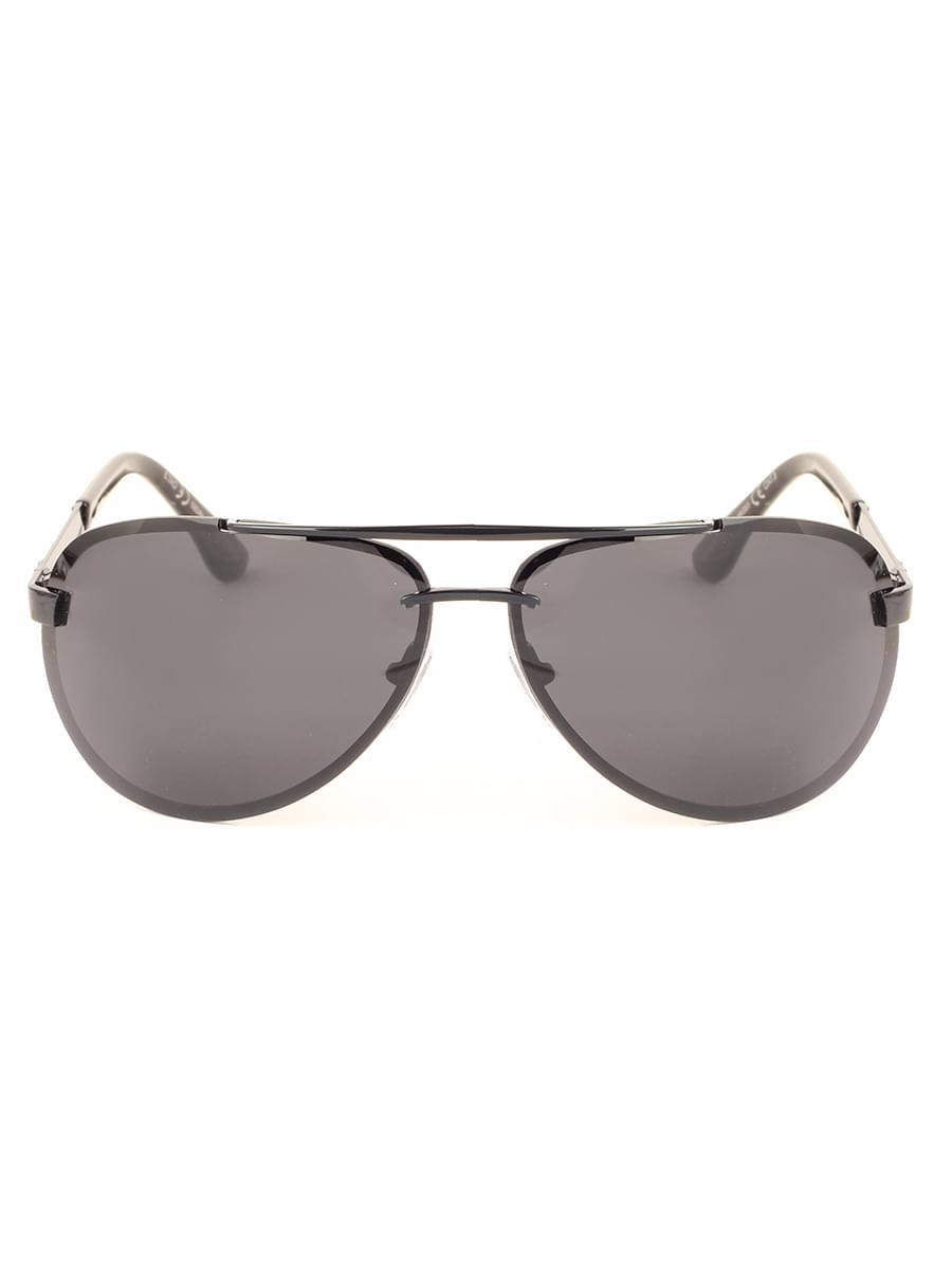 Солнцезащитные очки MARSTON 9802 Черные Глянцевые