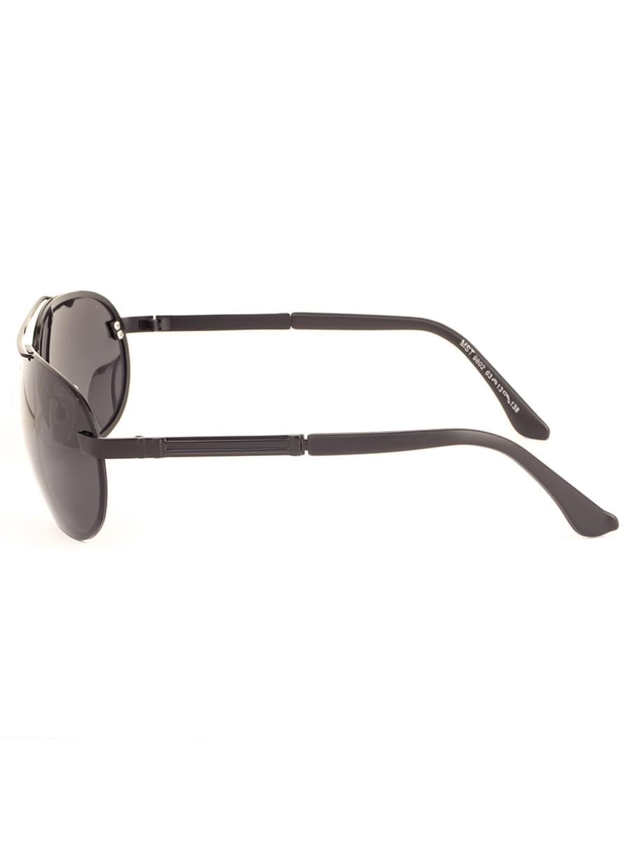 Солнцезащитные очки MARSTON 9802 Черные Матовые