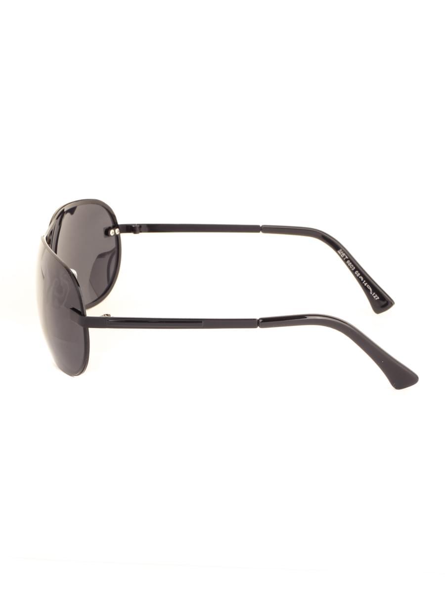 Солнцезащитные очки MARSTON 9803 Черные Глянцевые