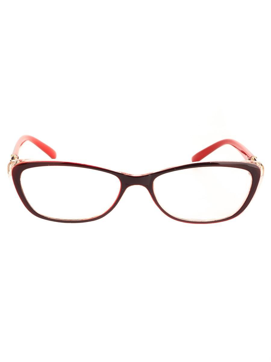 Готовые очки BOSHI 86008 Черные-Красные (-9.50)