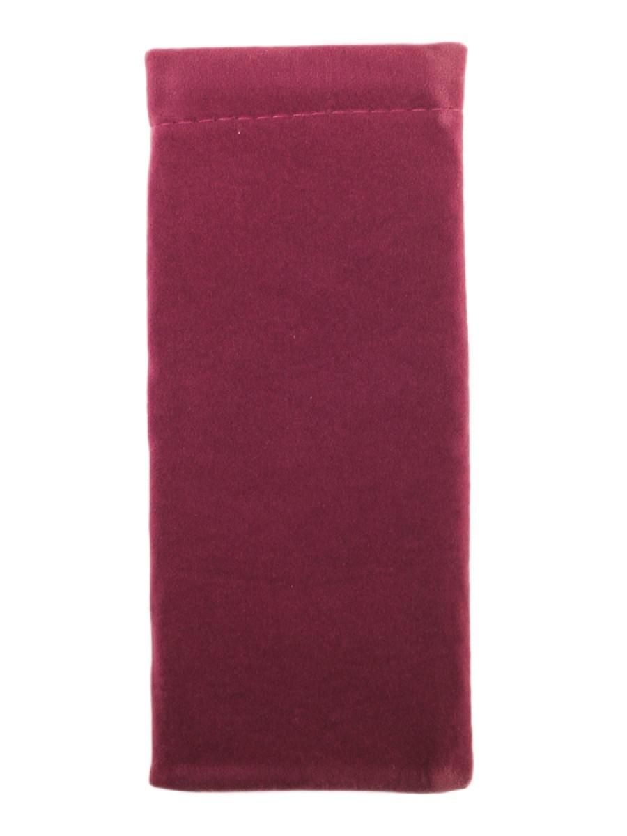 Мешочек для очков TAO 1 Темно-бордовый узкий
