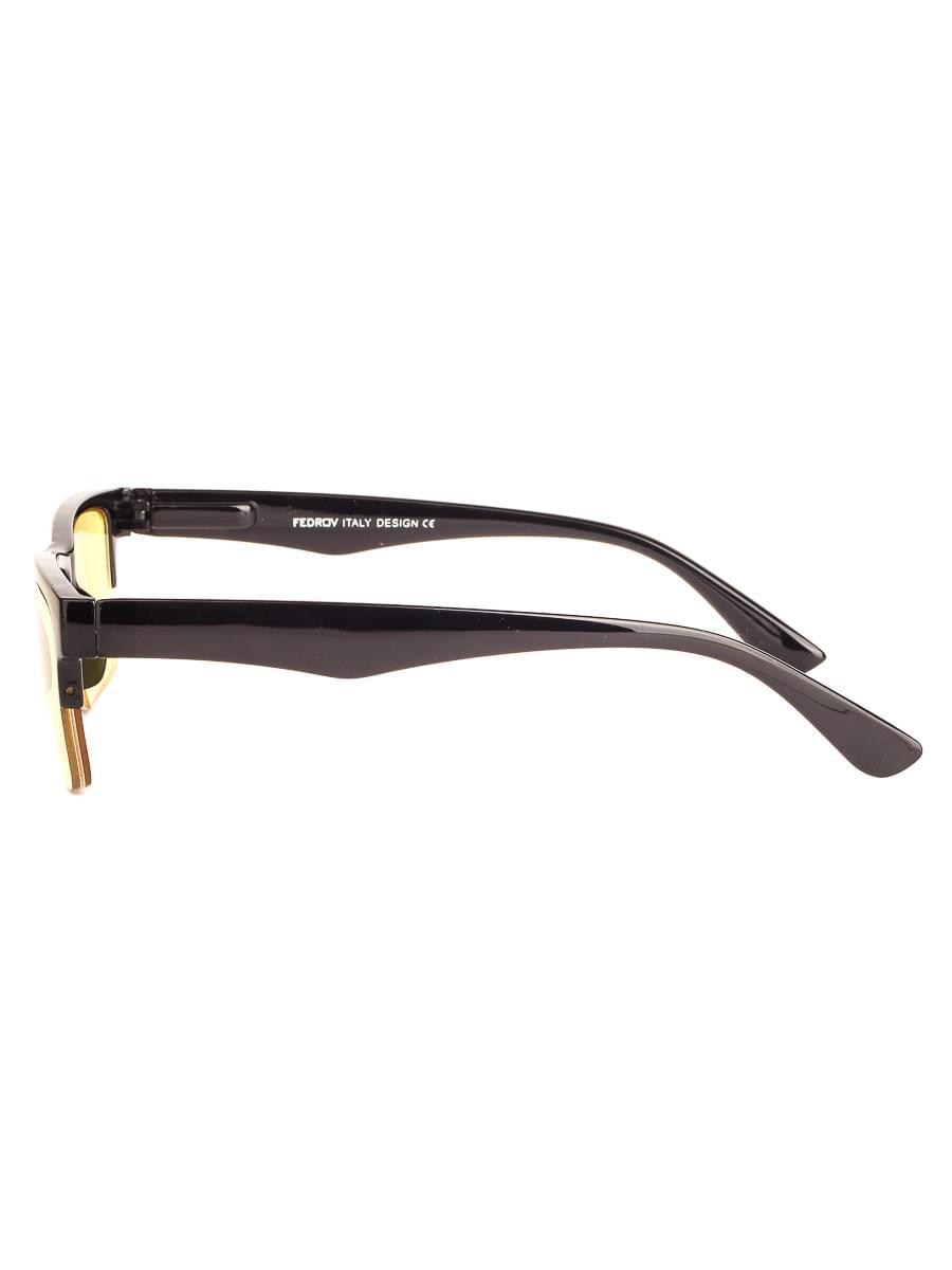 Готовые очки Fedrov 2082 Черно-Глянцевые Антифары
