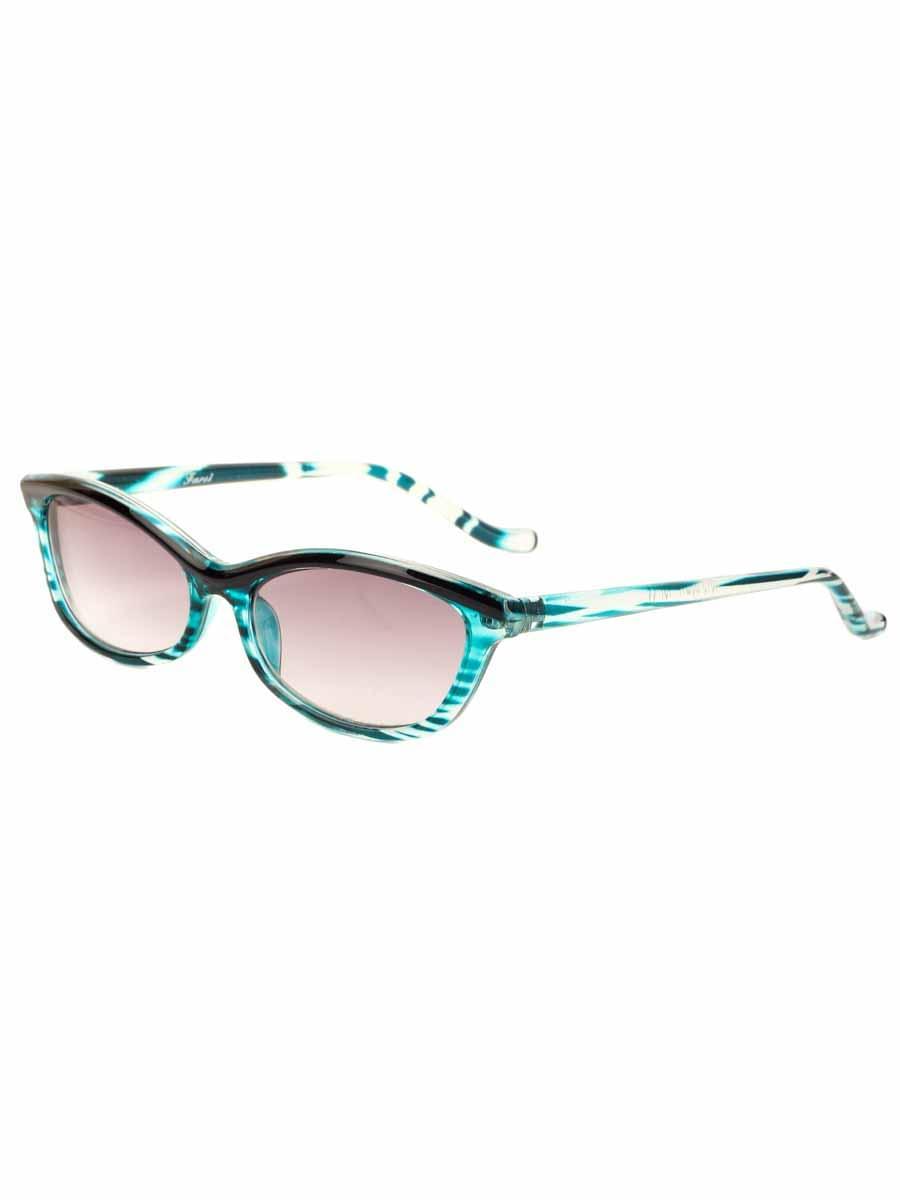 Готовые очки Farsi 1919 Синие Тонированные (-9.50)