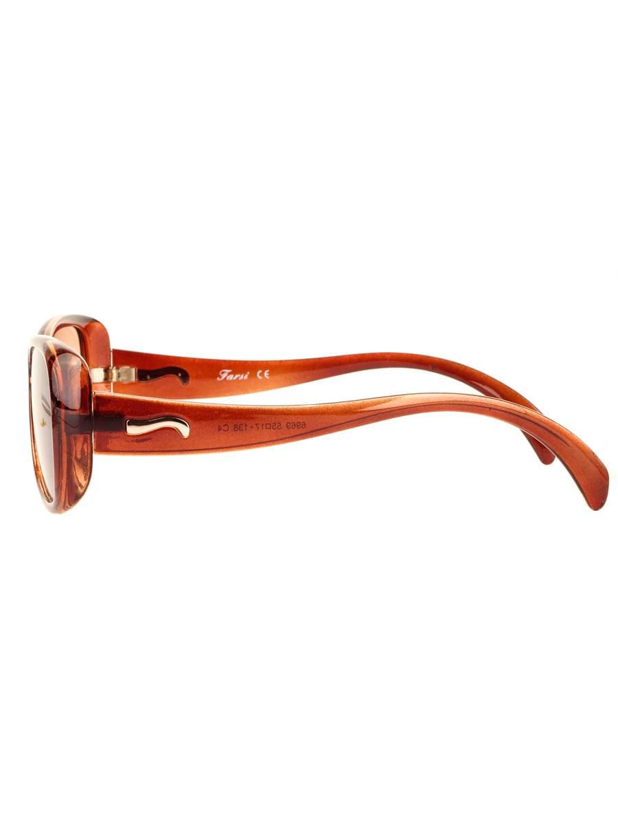 Готовые очки Farsi 6969 C4 Тонированные (-9.50)