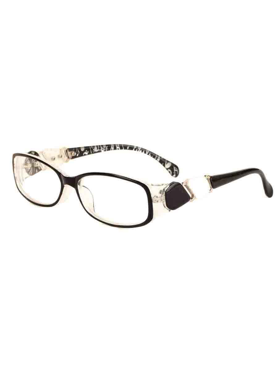 Готовые очки Farsi 7744 Черные Белые (-9.50)