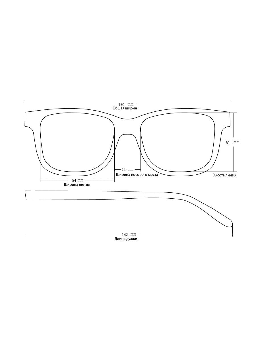 Солнцезащитные очки Loris 3661 C2
