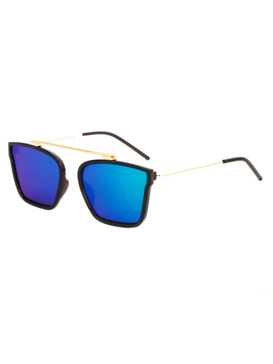 Солнцезащитные очки SunVision 704 Зеленые Зеркальные