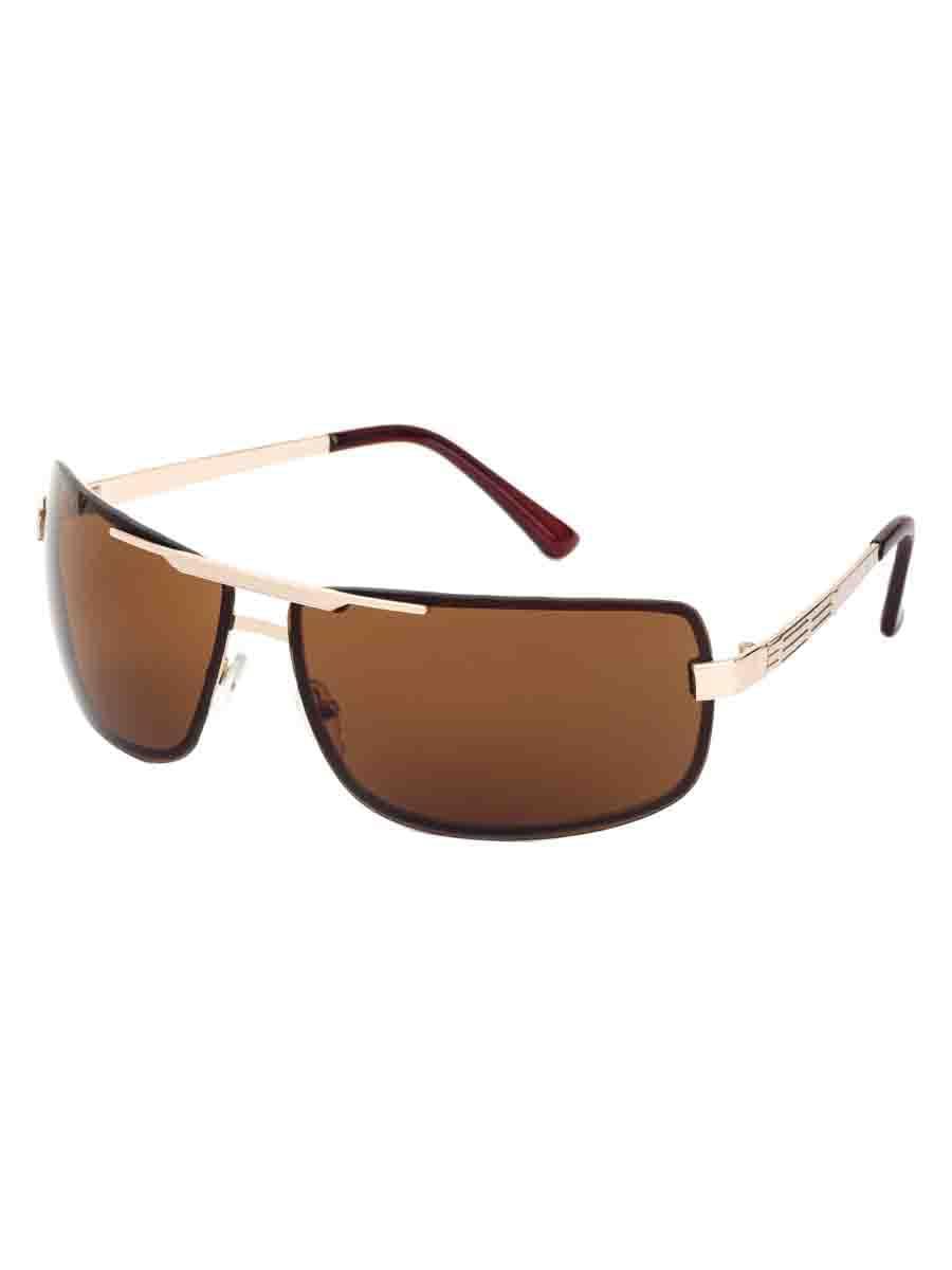 Солнцезащитные очки LEWIS 8503 Коричневый золотистый