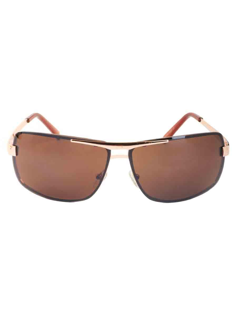 Солнцезащитные очки LEWIS 8508 Коричневый золотистый