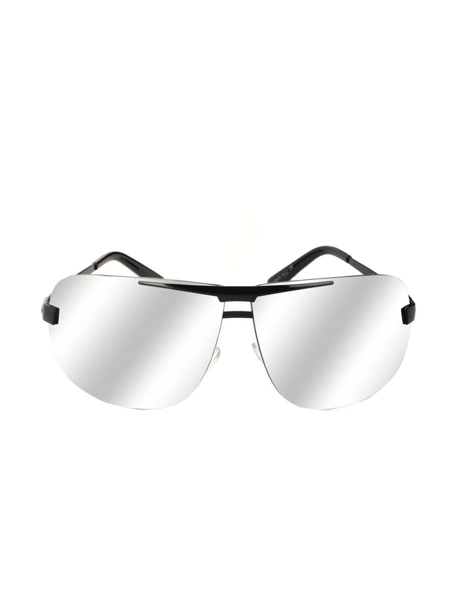 Солнцезащитные очки LEWIS 8508 Черные зеркальные