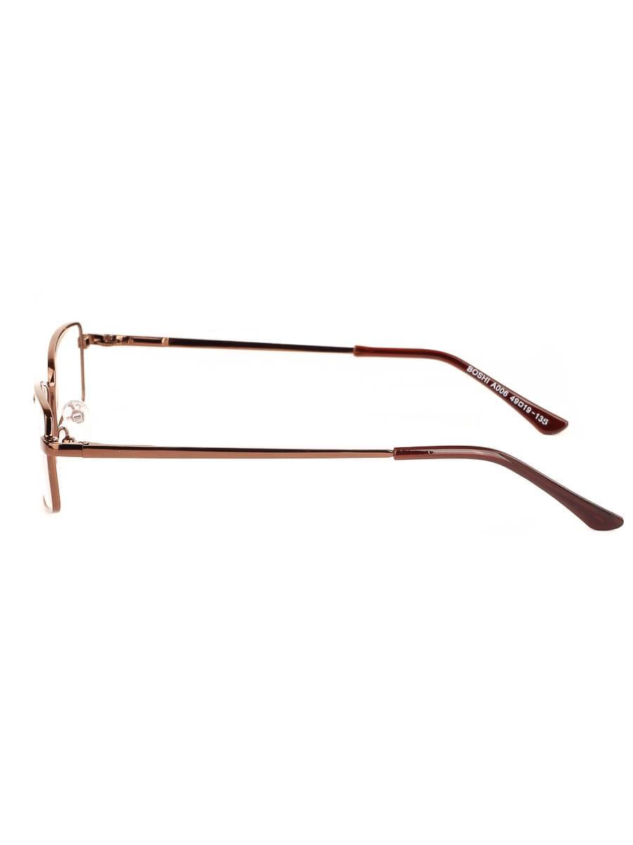 Готовые очки BOSHI A006 Коричневые (Ручка широкая) (-9.50)