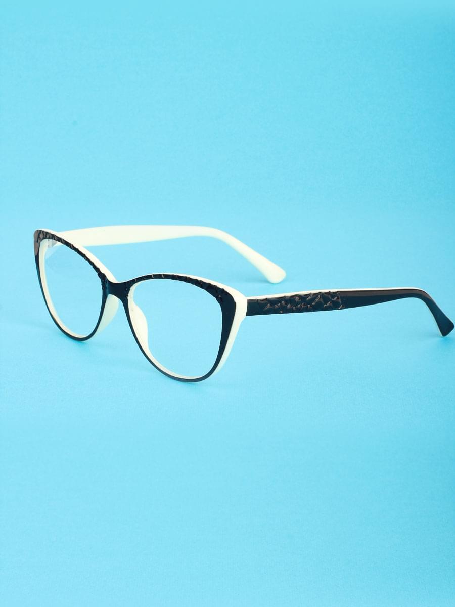 Готовые очки BOSHI 8105 Черно-белые (-9.50)