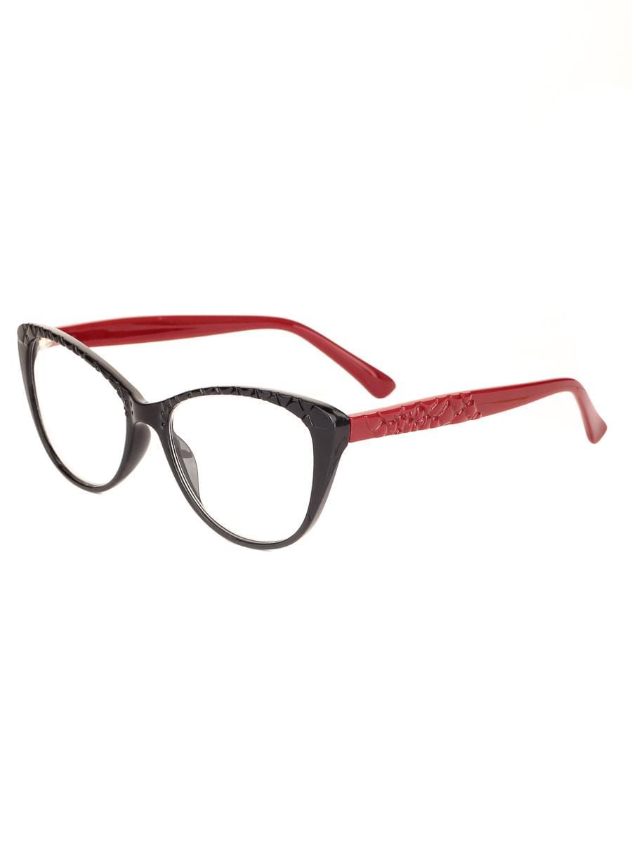 Готовые очки BOSHI 8105 Черно-красные (-9.50)