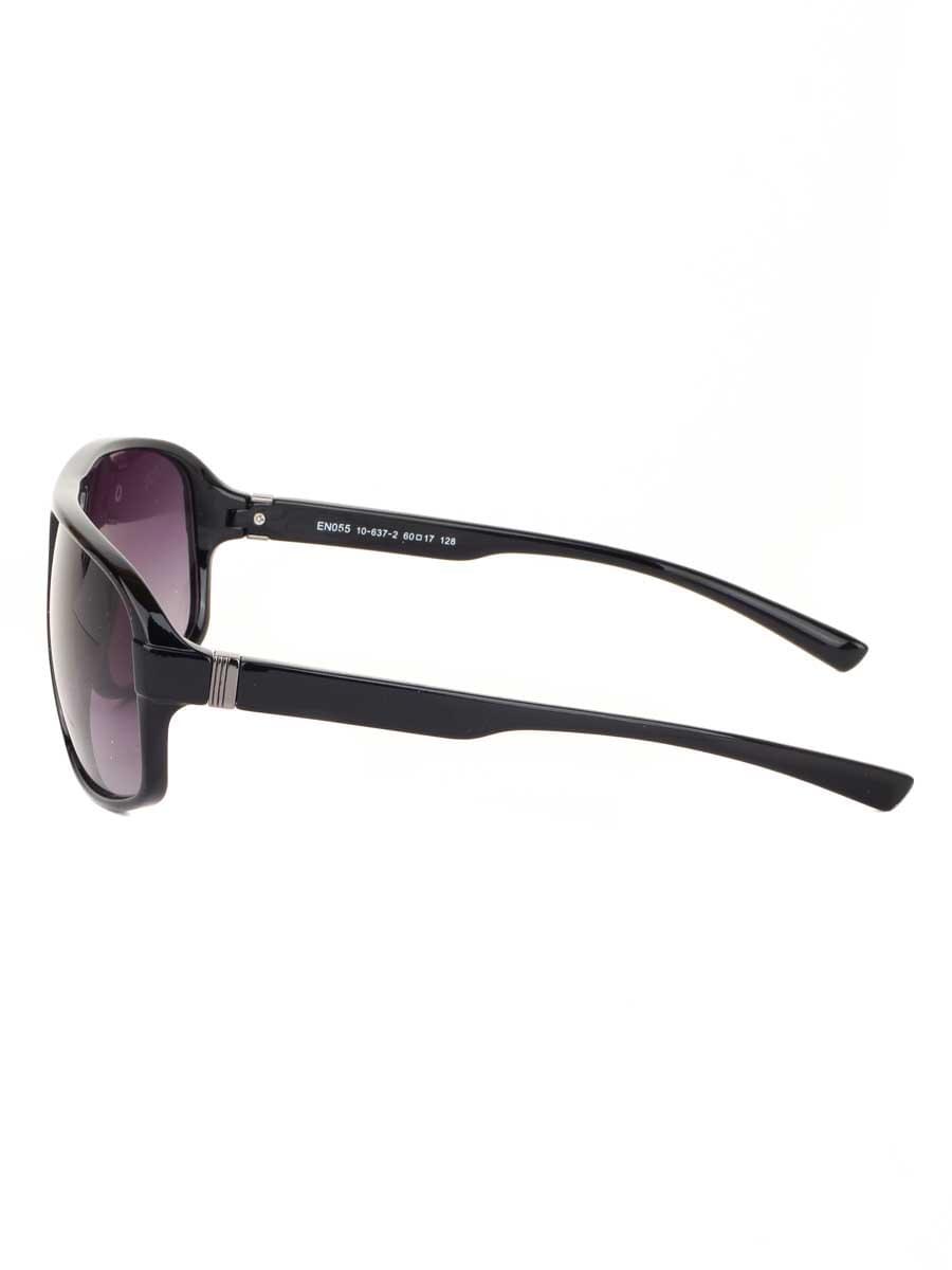 Солнцезащитные очки Cavaldi EN055 Черный глянцевый