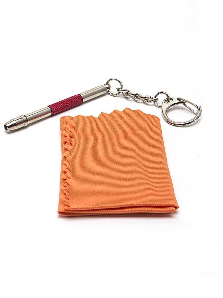Отвертка-брелок в упаковке красная