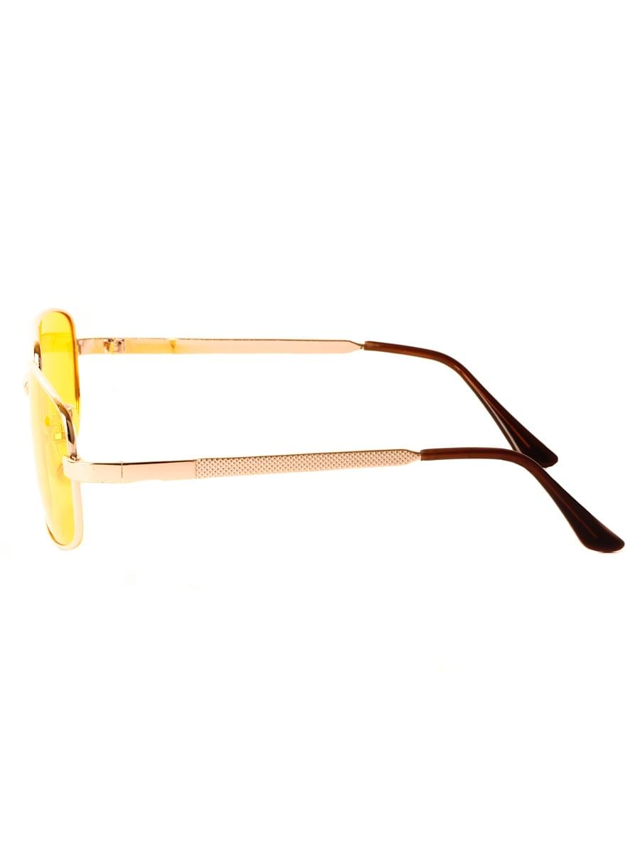 Очки для водителей антифары M28018 Золотистые