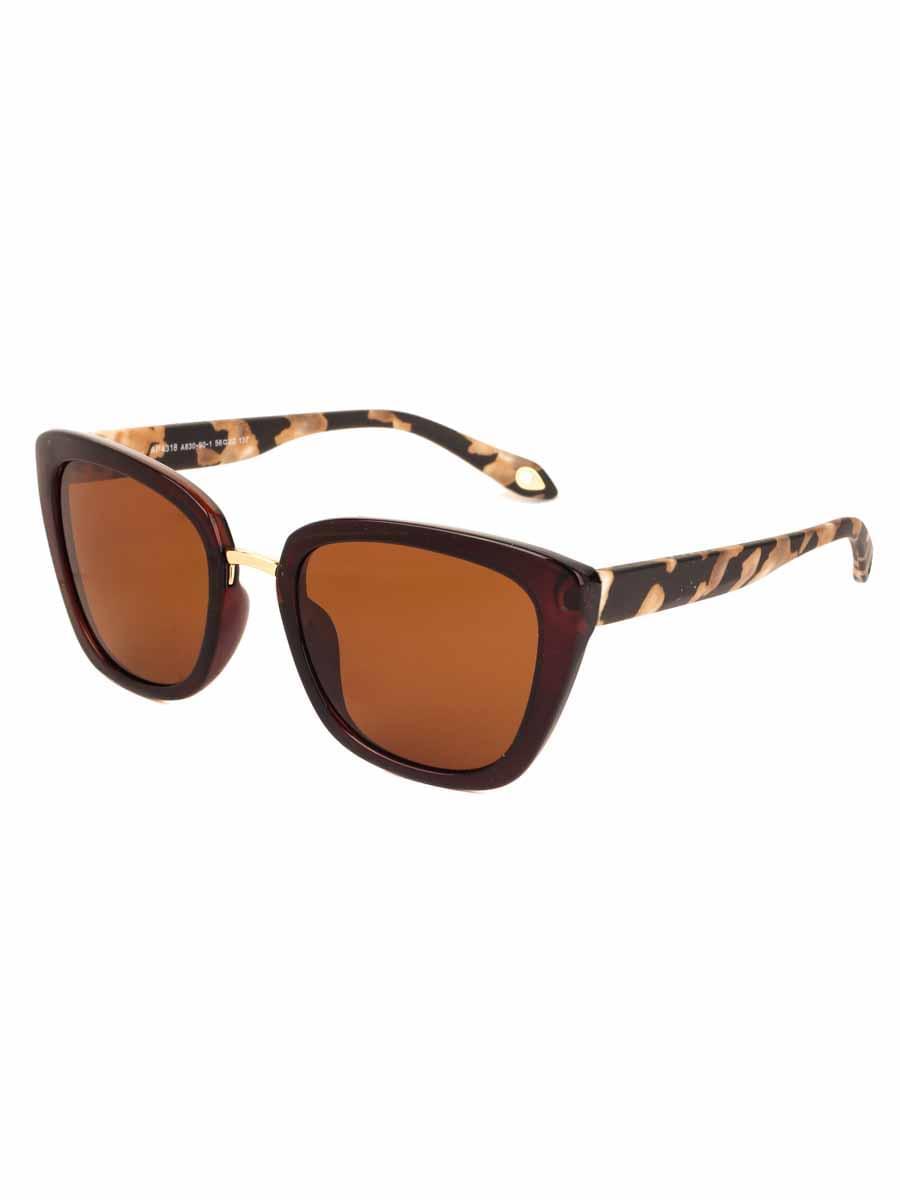 Солнцезащитные очки AOLISE 4318 CA830-90-1 линзы поляризационные