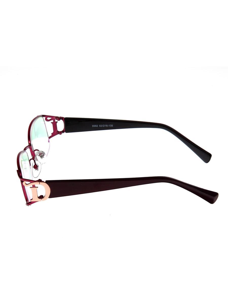 Готовые очки Sunshine 9982 BORDO (-9.50)
