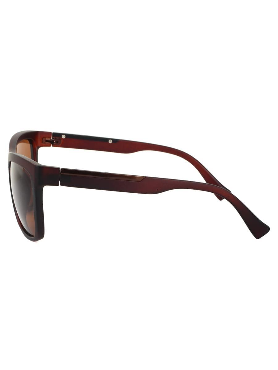 Солнцезащитные очки Keluona M082-1 Коричневые матовые