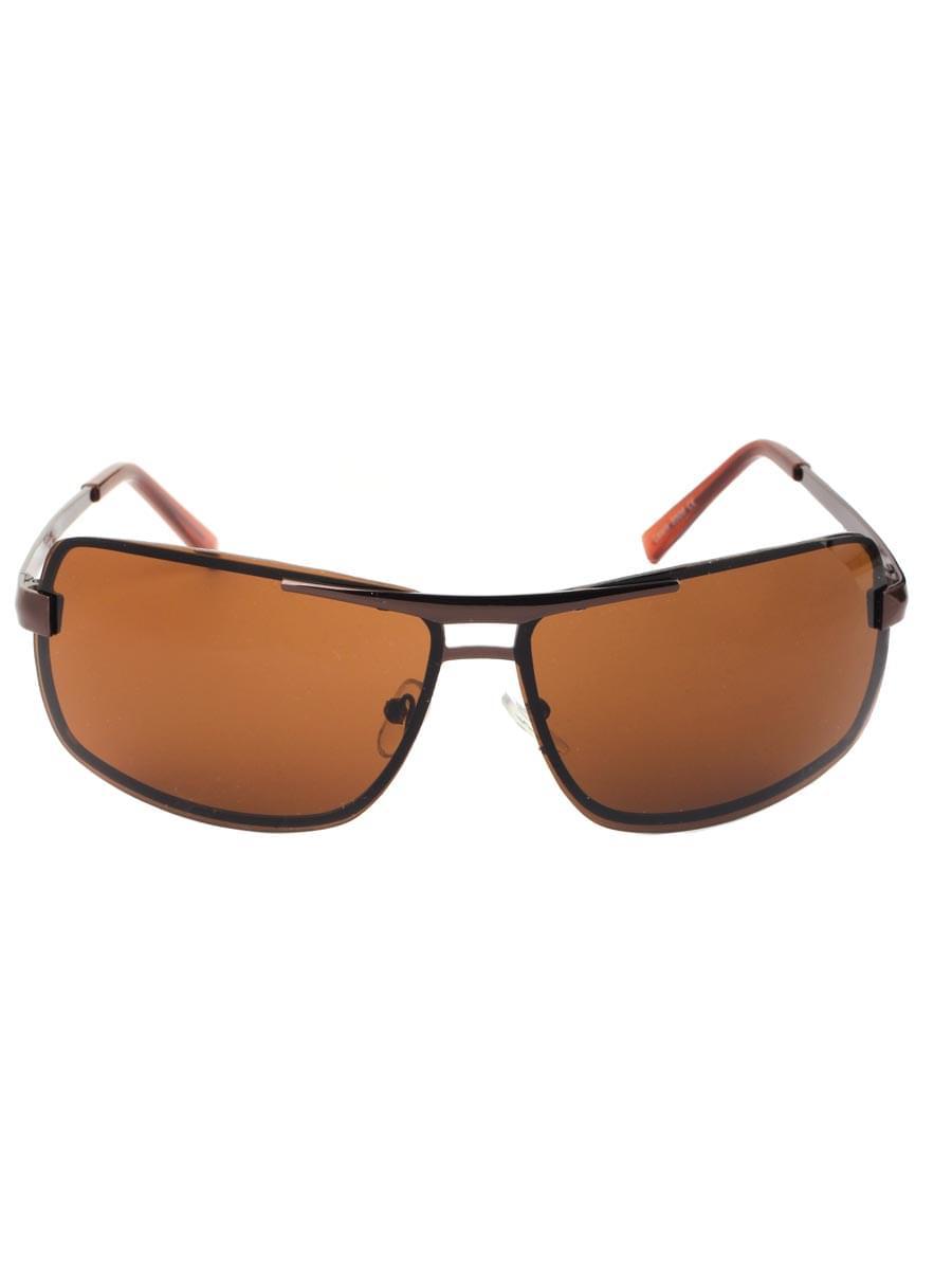 Солнцезащитные очки LEWIS 8506 Коричневые