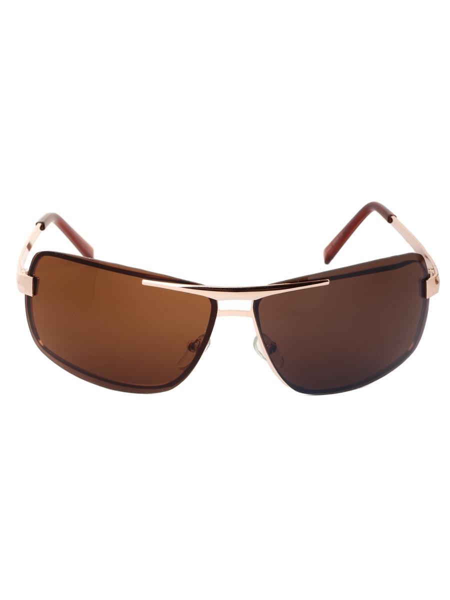 Солнцезащитные очки LEWIS 8506 Золотисто-коричневые