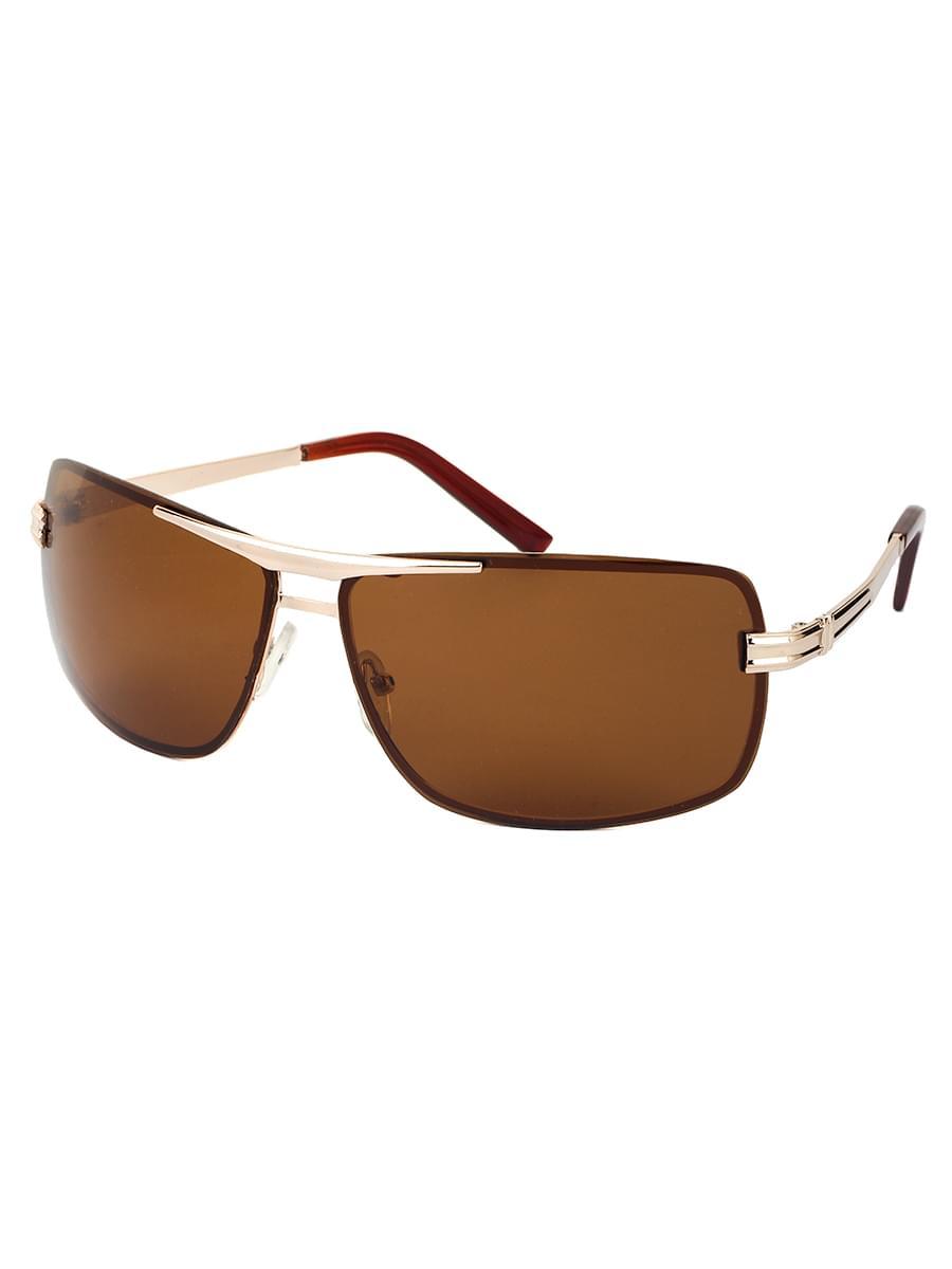 Солнцезащитные очки LEWIS 8515 Золотисто-коричневые