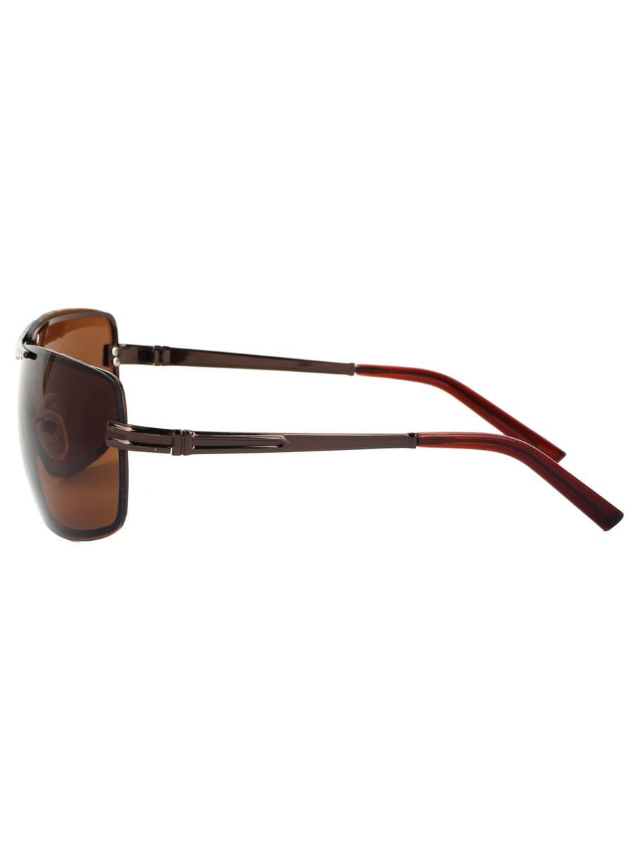 Солнцезащитные очки LEWIS 8515 Коричневые глянцевые