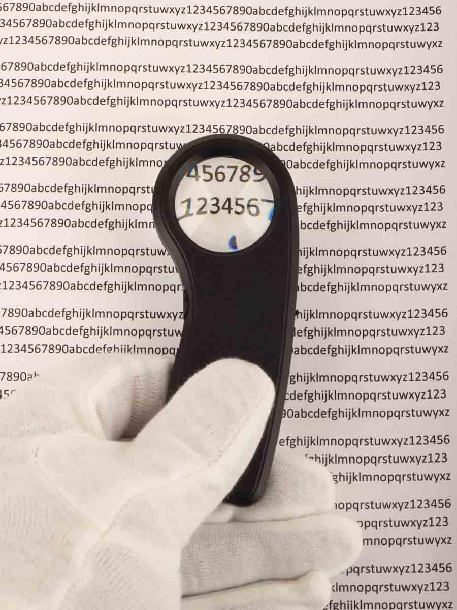 Лупа ручная MG21012-A