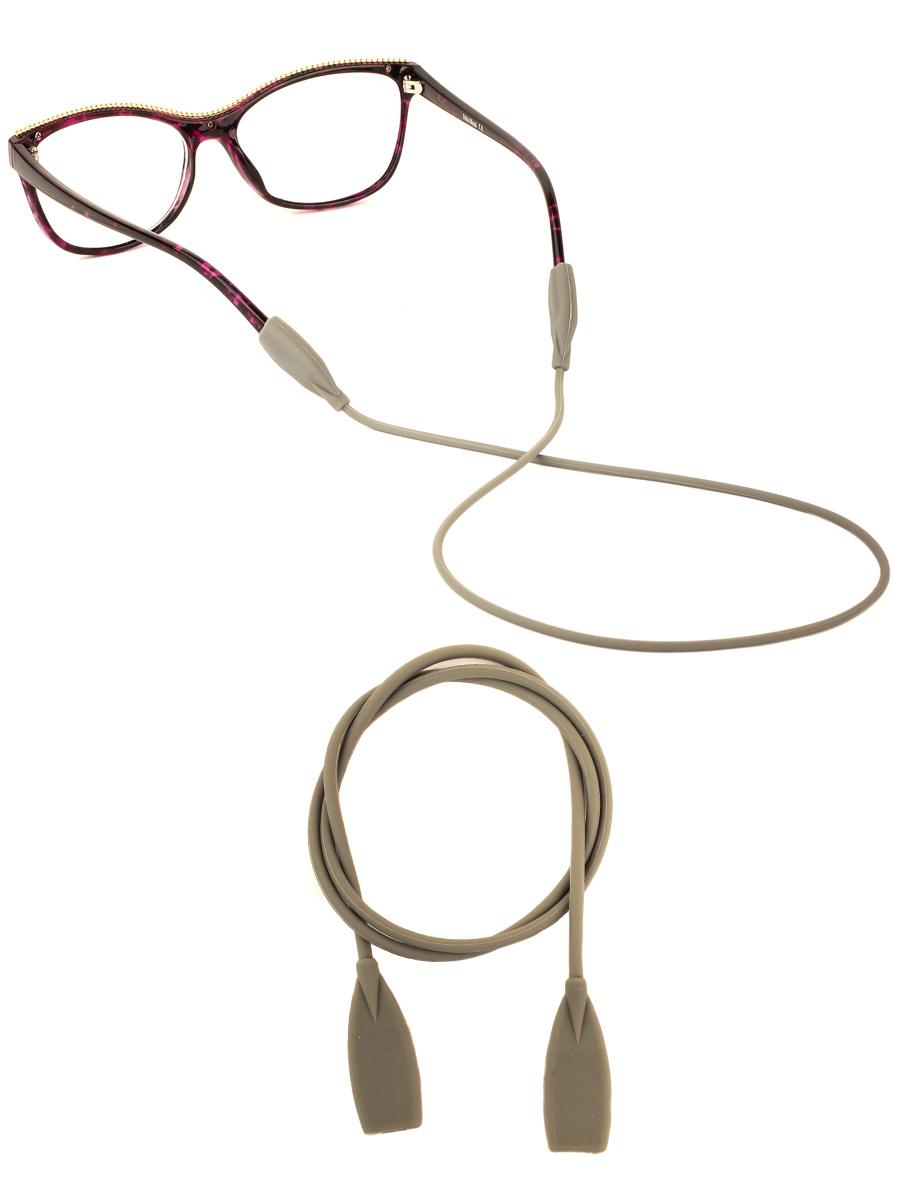 Шнурок силиконовый для очков №3 Оливковый