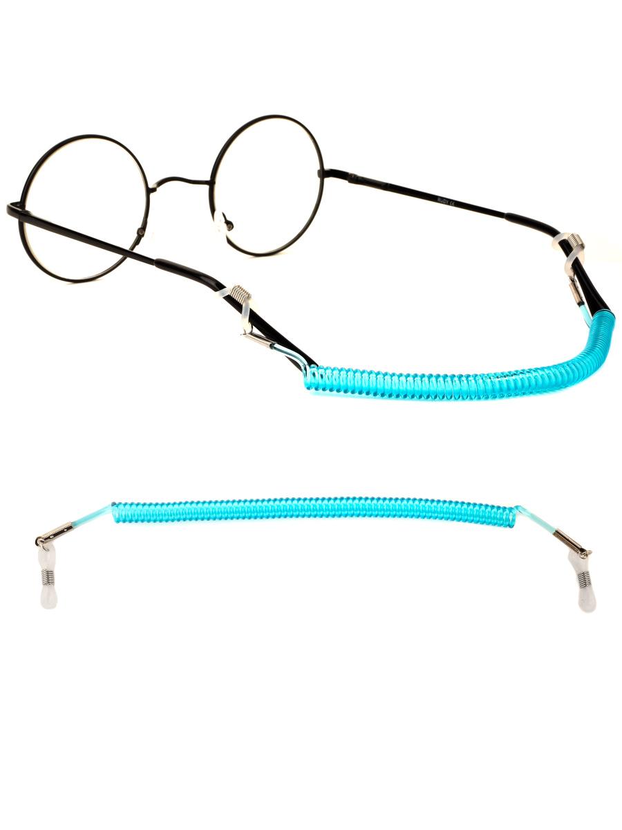 Шнурок силиконовый для очков №5 Голубой