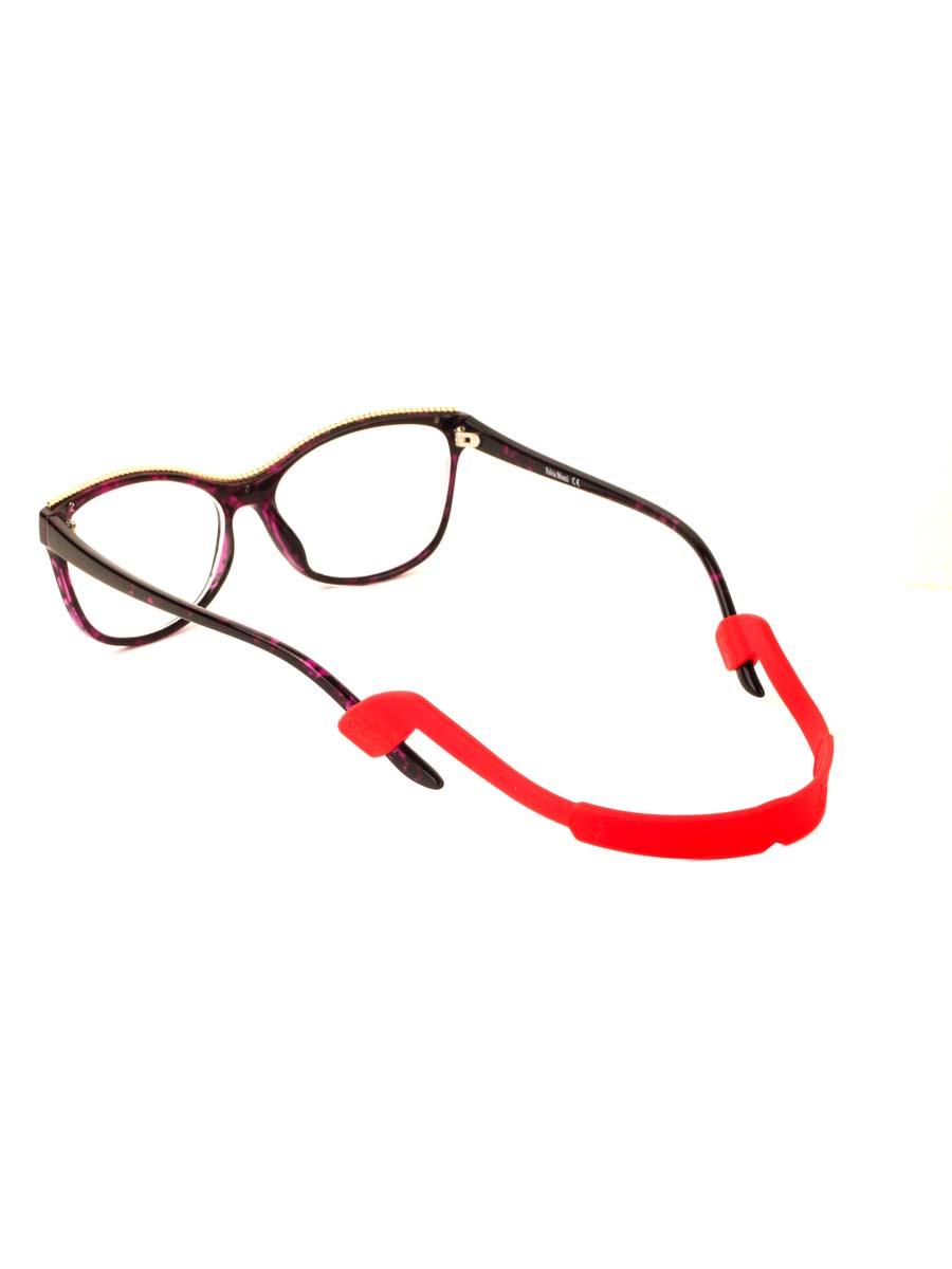 Шнурок силиконовый для очков №4 Красный