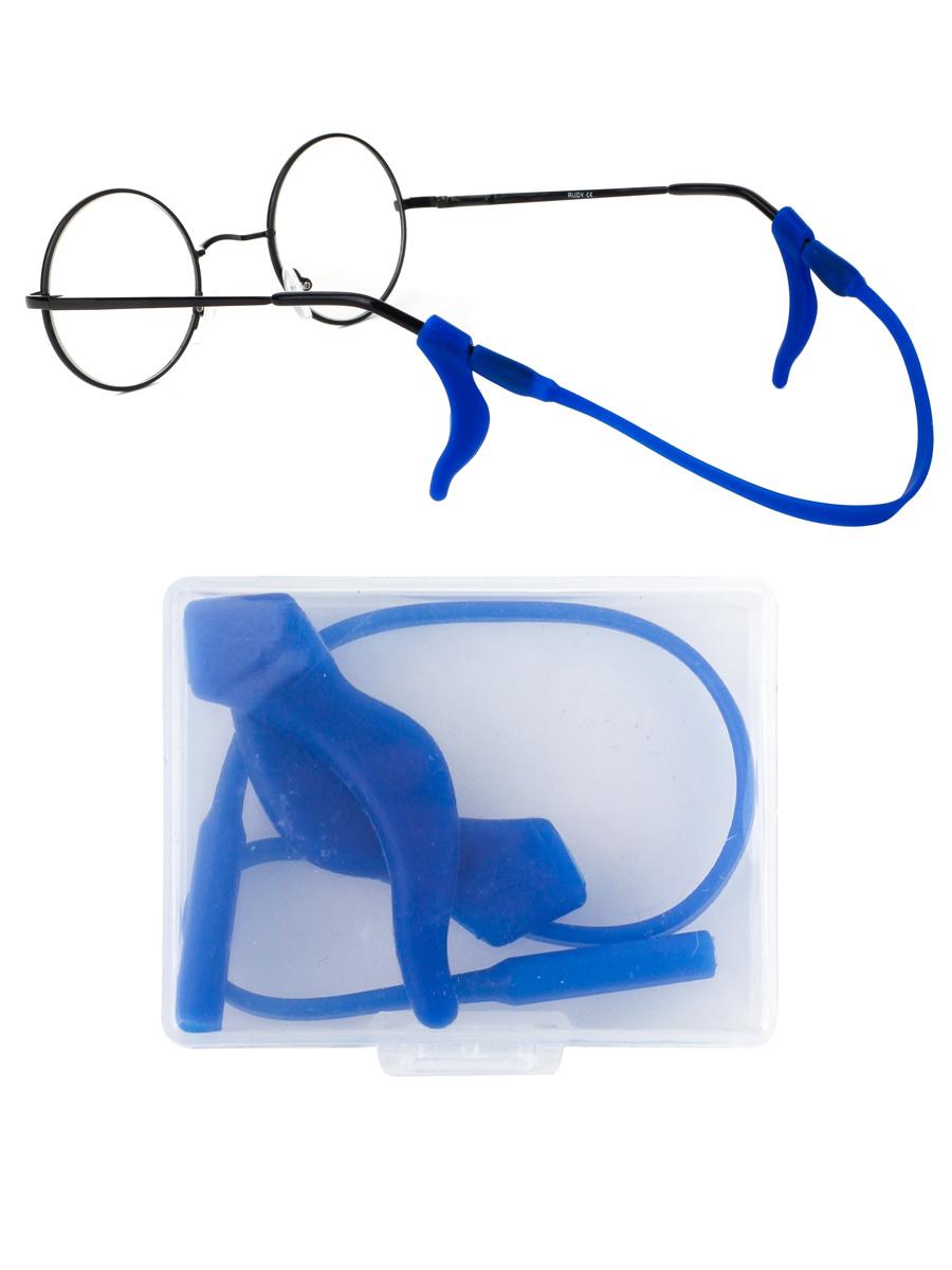 Стоппер силиконовый для очков №1 Голубой