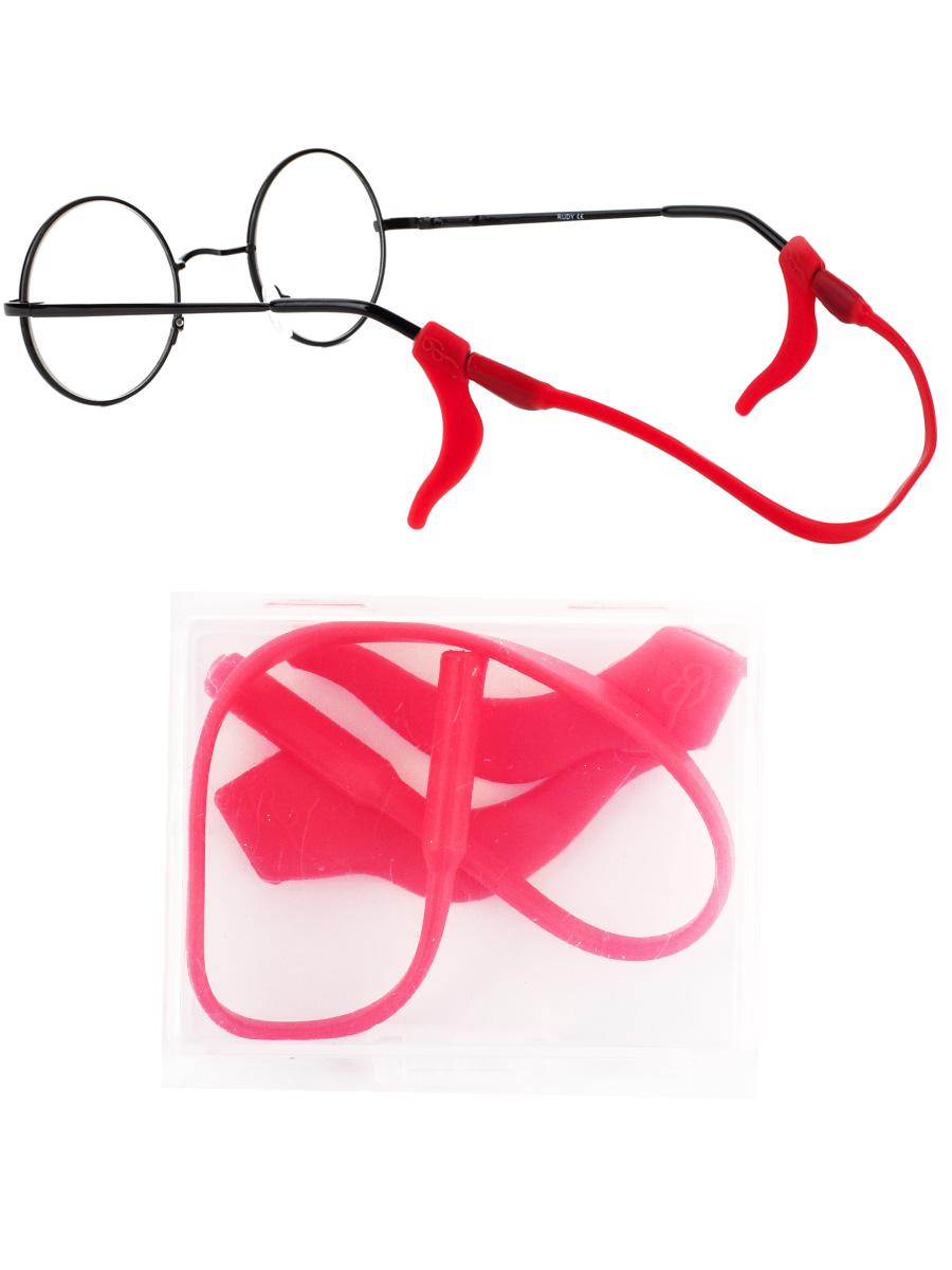 Стоппер силиконовый для очков №1 Красный