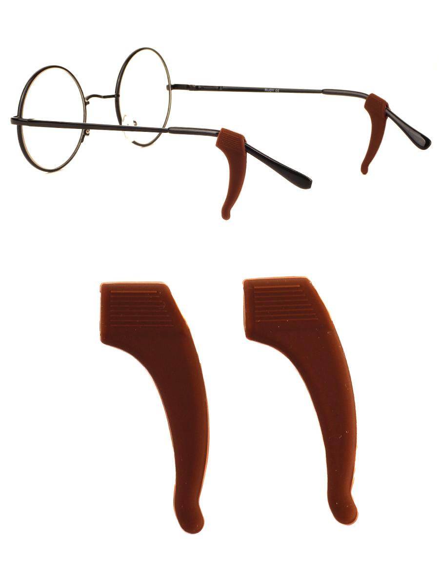 Стоппер силиконовый для очков №5 Темно-коричневый