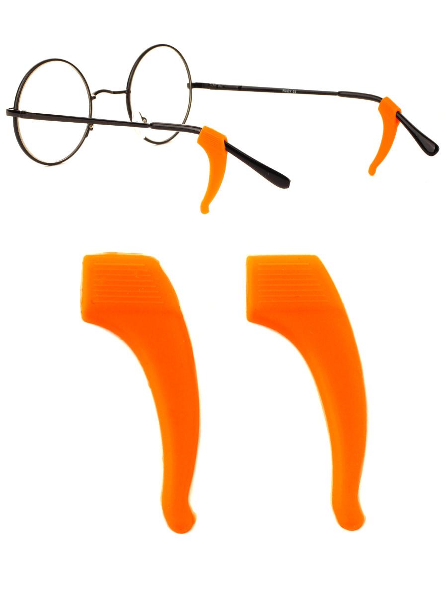 Стоппер силиконовый для очков №5 Оранжевый