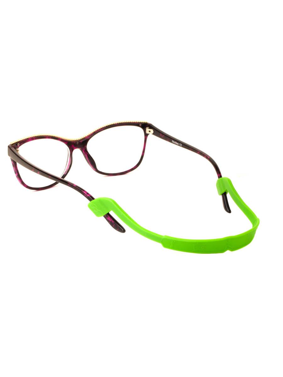 Шнурок силиконовый для очков №4 Зеленый