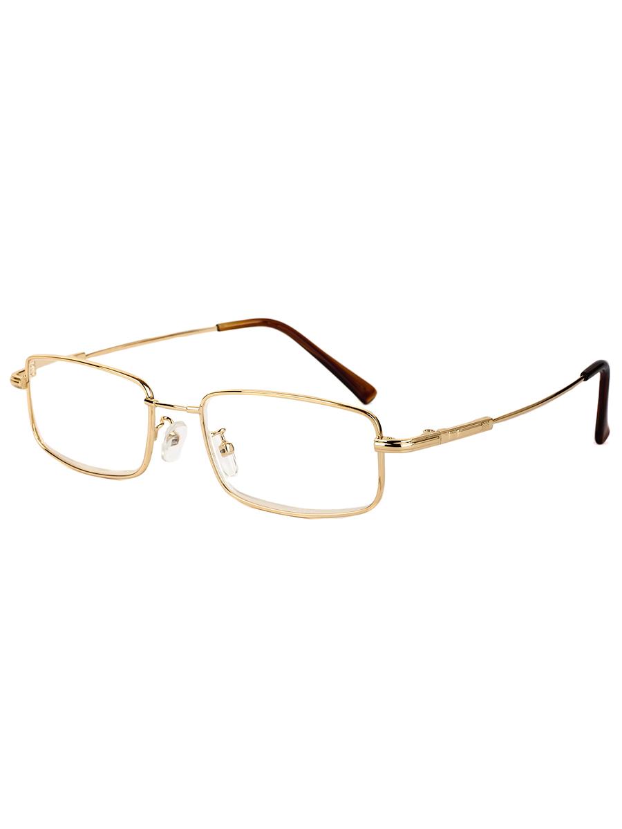 Готовые очки Farfalla 8201 Золотистые Титановые (-9.50)