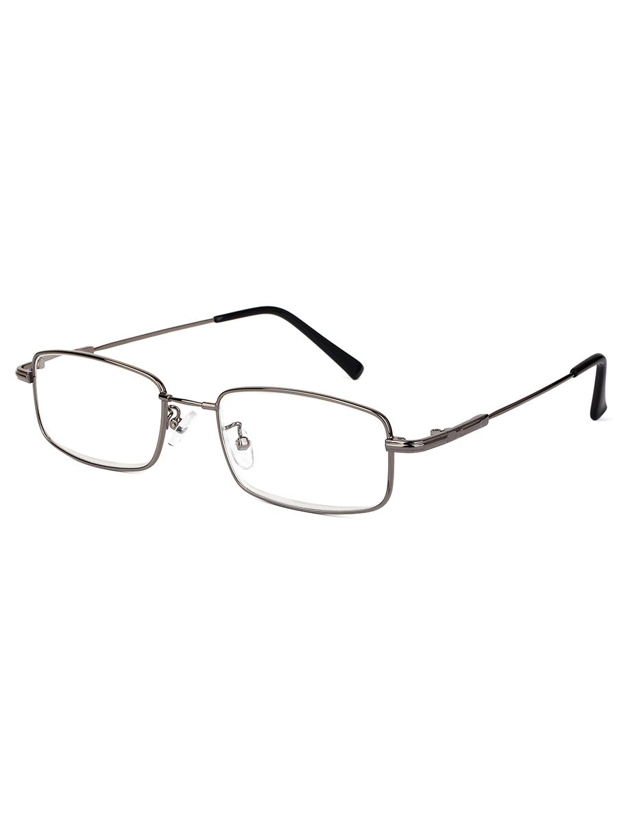 Готовые очки Farfalla 8201 Серые Титановые (-9.50)