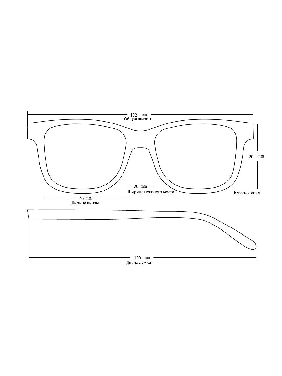 Готовые очки Astrid SR27A Серебристый Ручка узкая (-9.50)